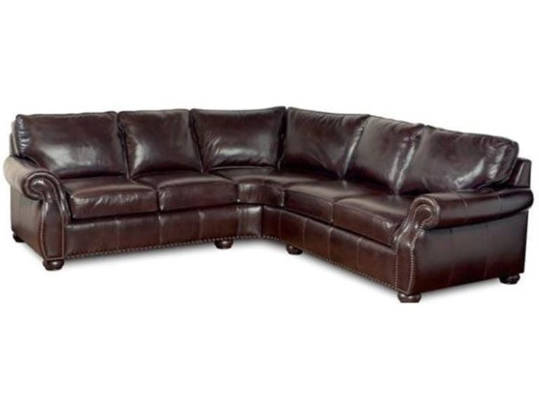 Stock Program BRADY 2 PIECE LEATHER SECTIONAL SL891AST/SL892AST From Walter  E. Smithe Furniture