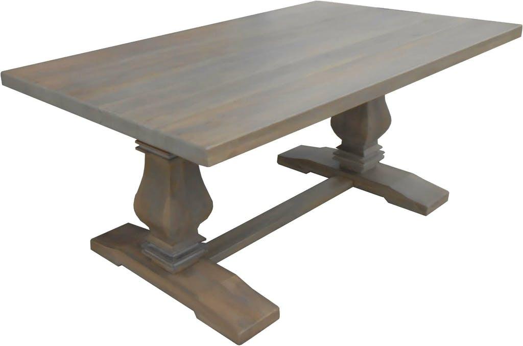arlington round sienna pedestal dining room table w chestnut finish. bristow table - greige arlington round sienna pedestal dining room table w chestnut finish