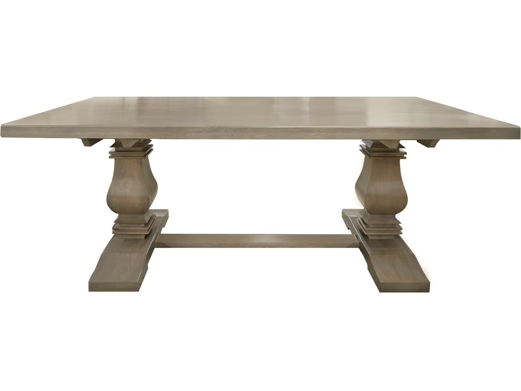 Bristow 72in Dining Table In Natural No Leaf