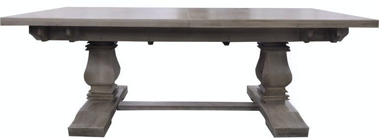 Bristow 102 5in Dining Table In Greige