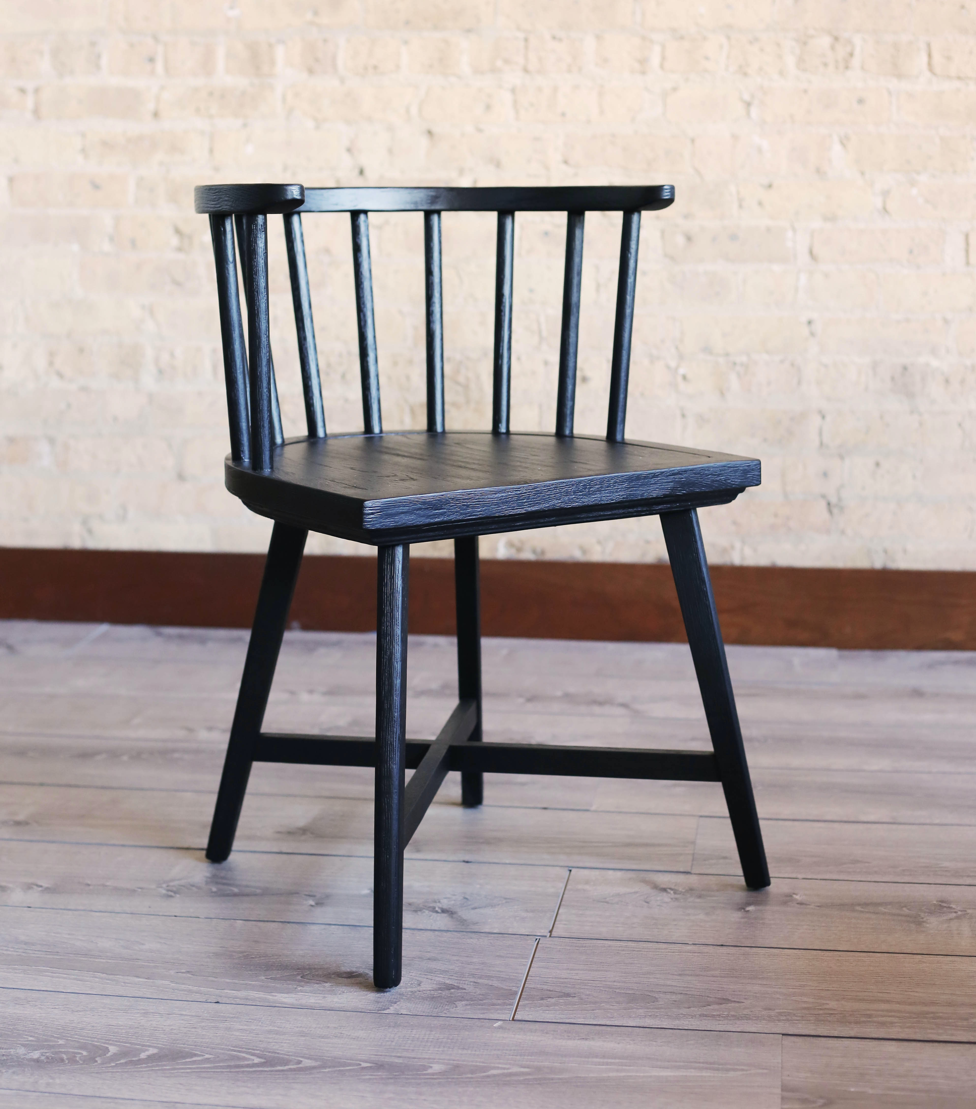 Catalog Feature ORVILLE DINING CHAIR BRNFC121861OAKST From Walter E. Smithe  Furniture + Design