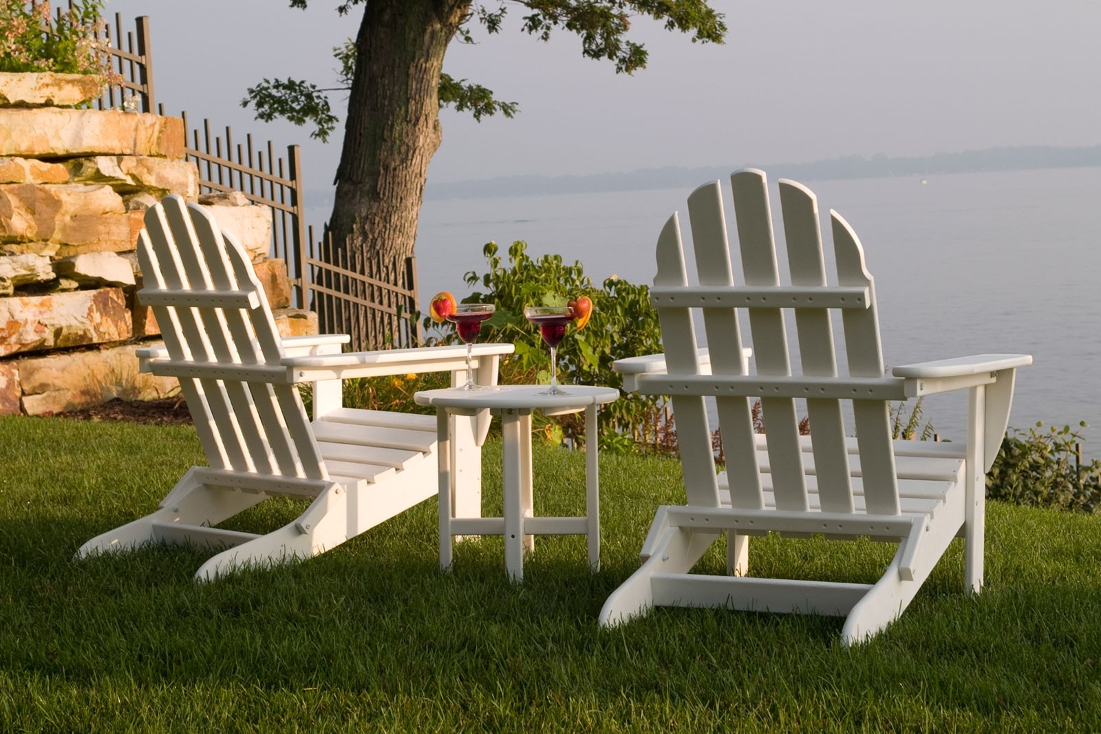 Beautiful Westport Chair Co. WHITE CLASSIC FOLDING ADIRONDACK CHAIR WCC5030WHT From  Walter E. Smithe Furniture