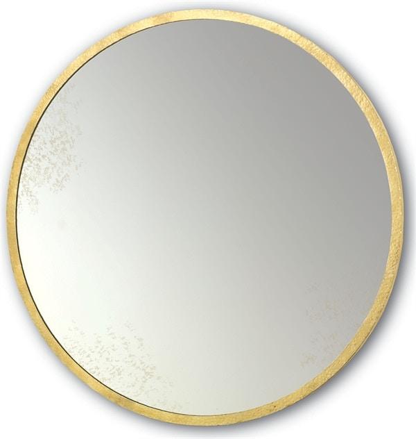 Aline 42 Inch Round Mirror Cy1088louie Clr