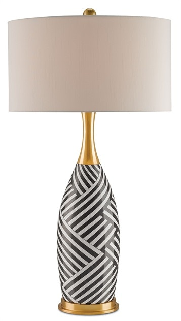 Clearance HESTER TABLE LAMP CY6258 CLR From Walter E. Smithe Furniture +  Design