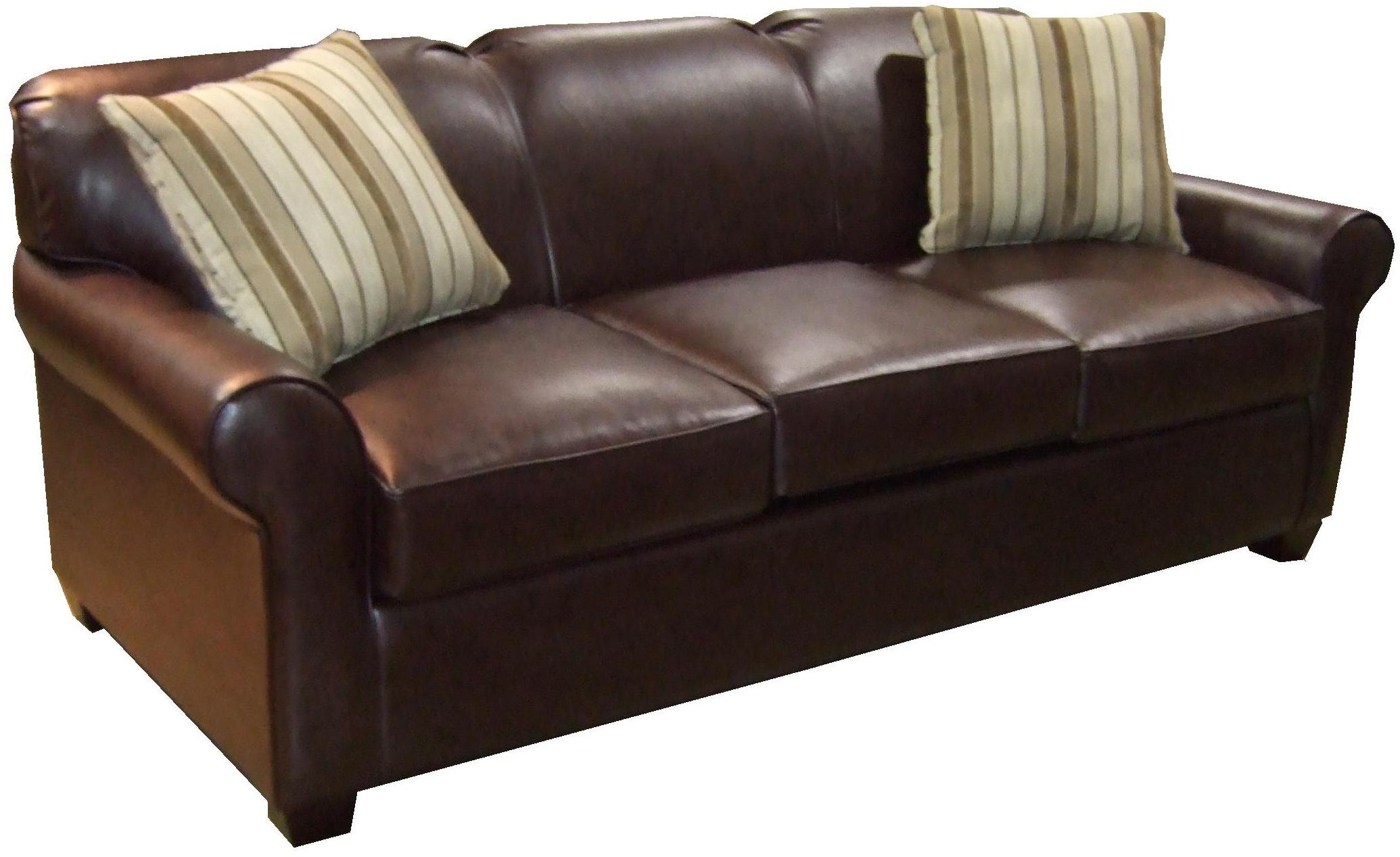 Schiller Bonded Leather Queen Sleeper ~ Leather Sleeper Sofa Queen