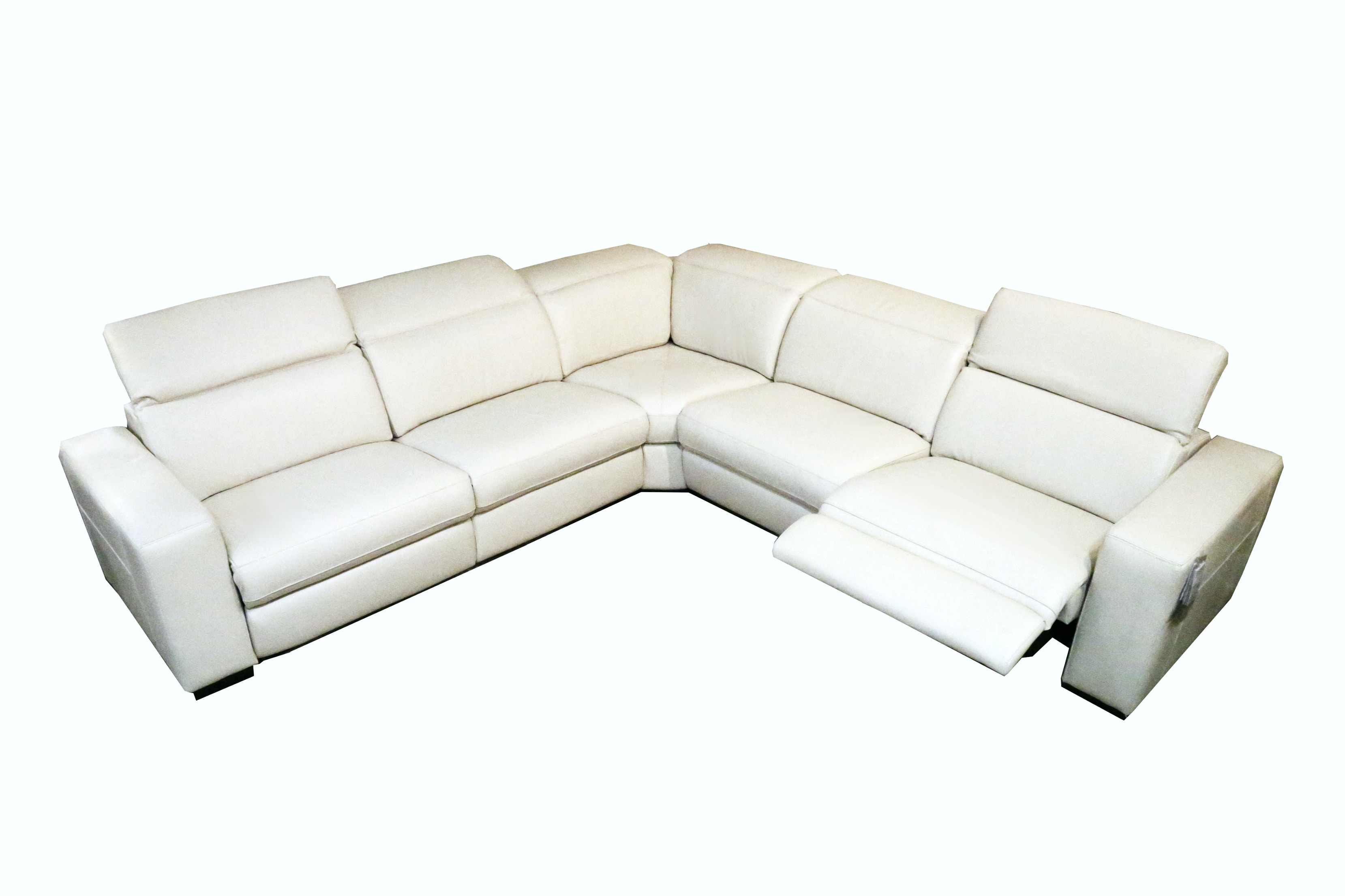 Stock Program ERIE POWER RECLINING SECTIONAL ABO229SERIES From Walter E.  Smithe Furniture + Design