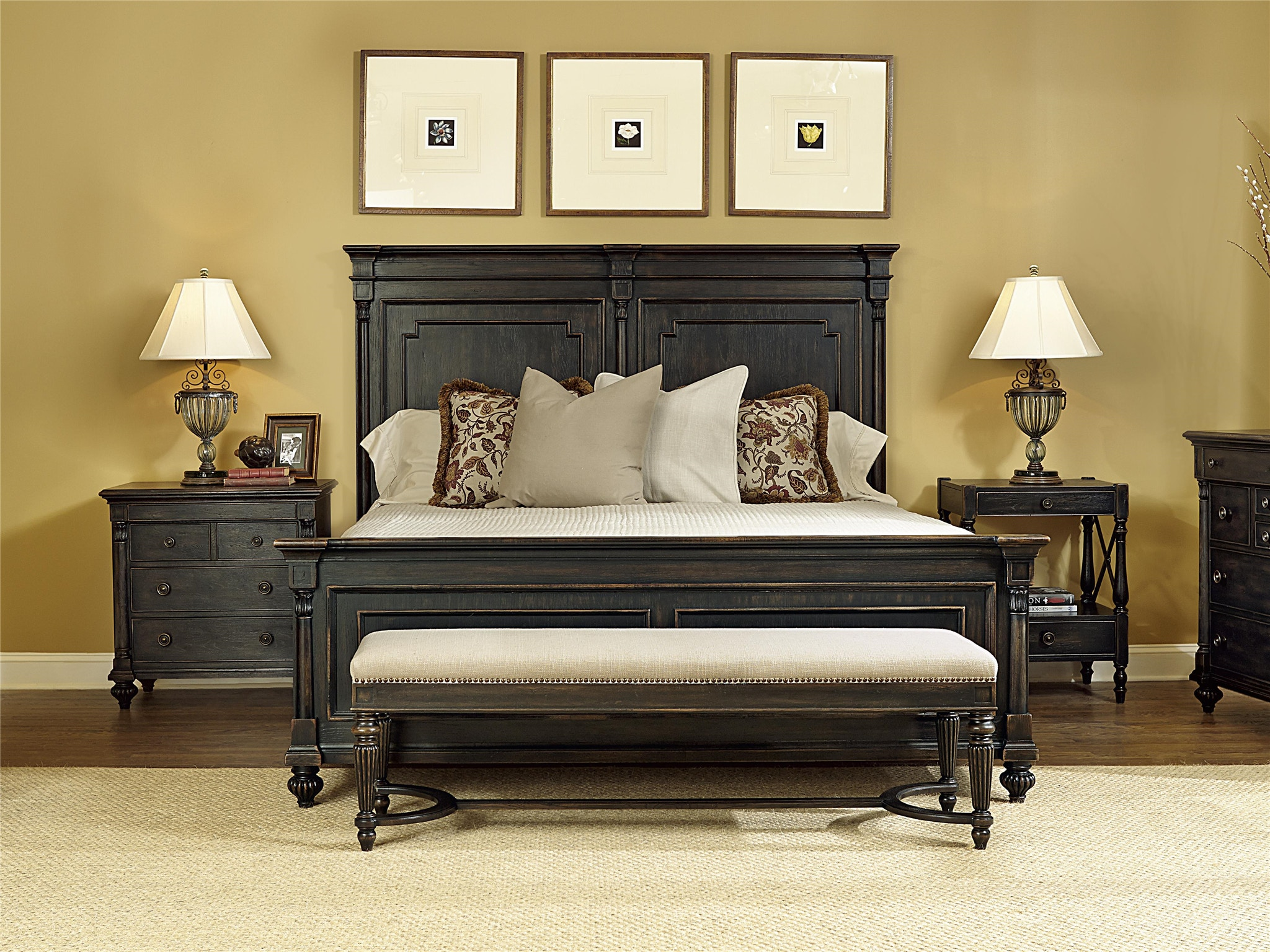 Stock Program PARLIAMENT KING BED MRF1510467168169ST From Walter E. Smithe  Furniture + Design