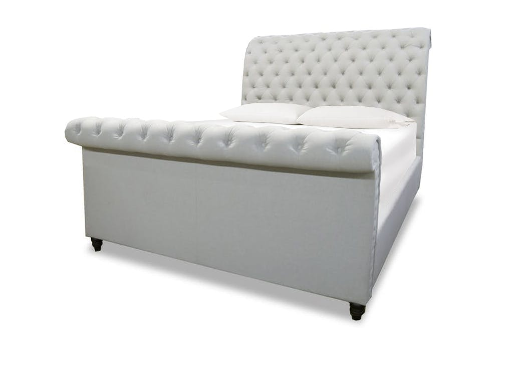 Finley Queen Upholstered Sleigh Bed