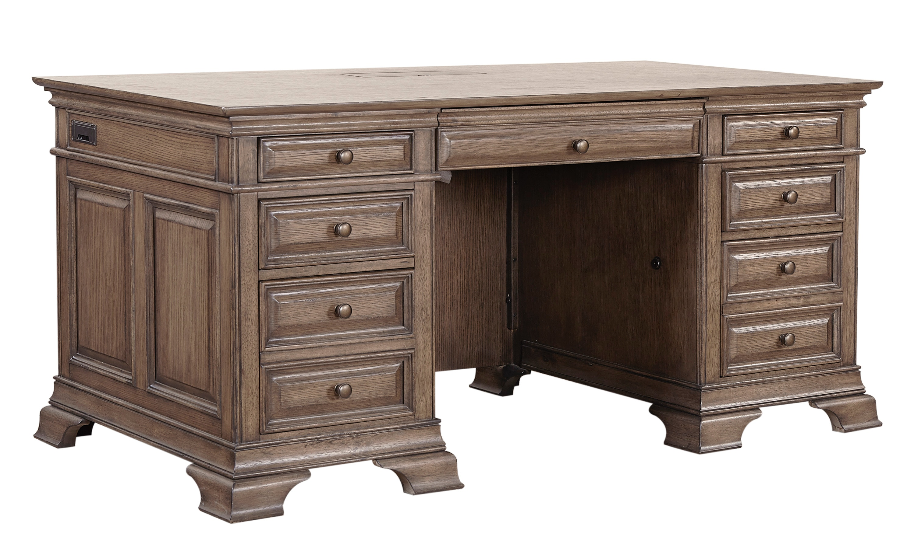Stock Program HAMILTON 72 EXECUTIVE DESK HWI92300BTST From Walter E. Smithe  Furniture + Design