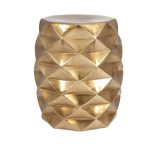Accessories GEOMETRIC GARDEN STOOL IX25194MELROSE From Walter E. Smithe  Furniture + Design
