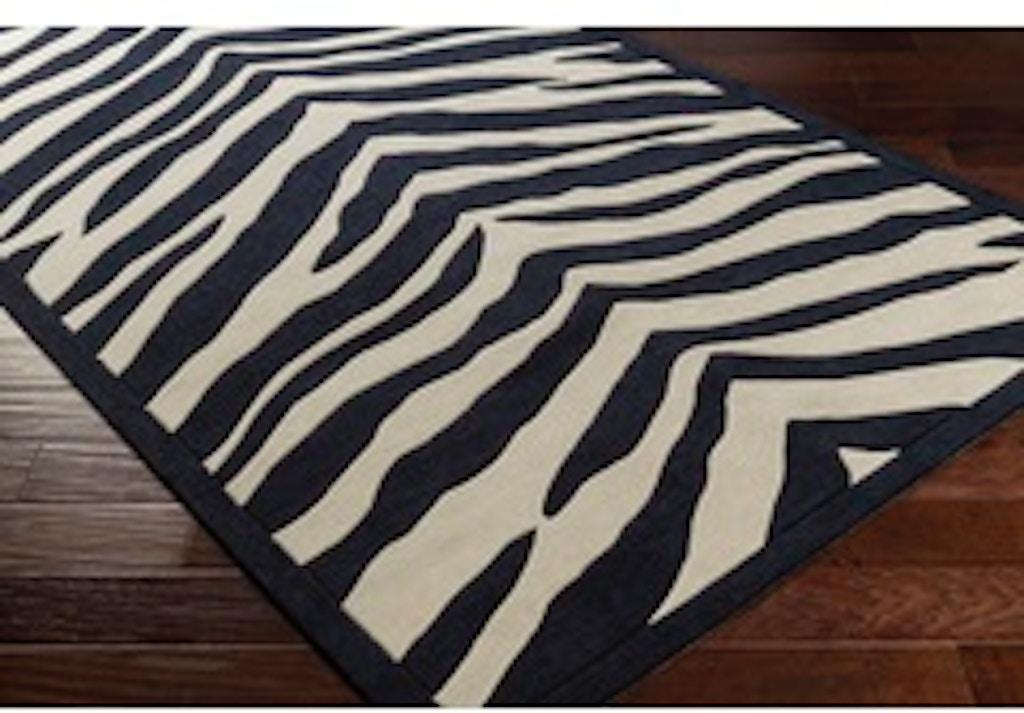 Zebra Print 8x10 Rug