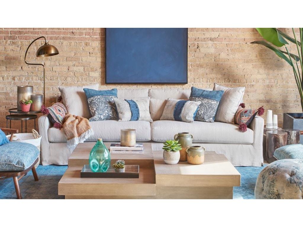 Clearance Living Room MALIBU SLIPCOVERED SOFA CSBMALSOF108-CLR Walter E.  Smithe Furniture + Design