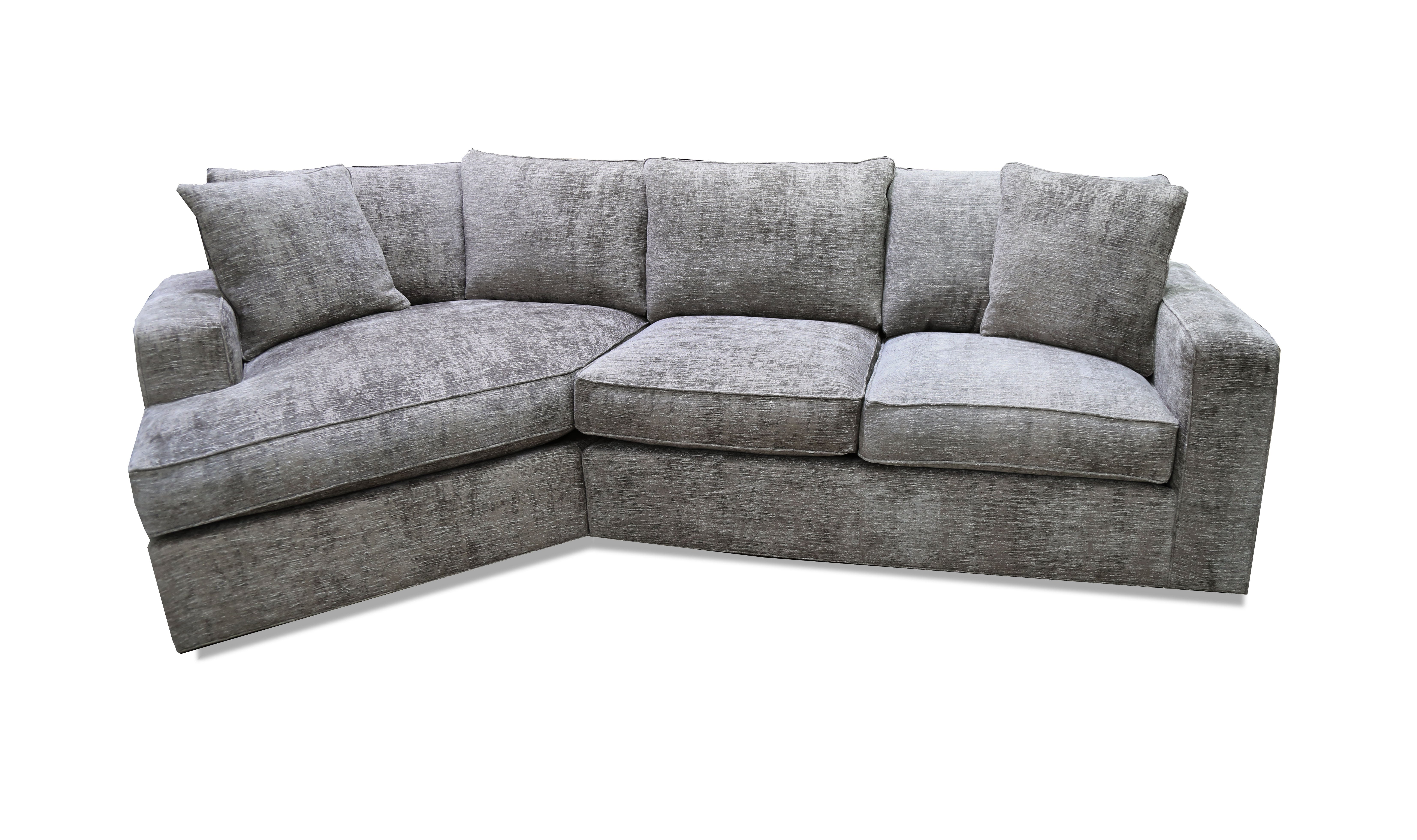Milford 2 Piece Angled Chaise Sectional