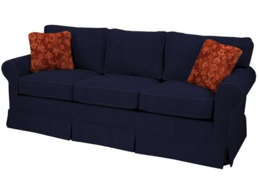 2019 Catalog Feature Living Room Copley Square Attached Back Apartment Sofa  NR925060-catalog Walter E. Smithe Furniture + Design
