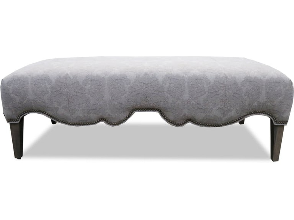 Admirable Clearance Home Accents Swag Curved Ottoman Bench Nr96810 Clr Walter E Smithe Furniture Design Theyellowbook Wood Chair Design Ideas Theyellowbookinfo