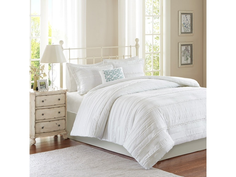 Accessories Celeste 4pc Queen Duvet Set Olxmp122530 From Walter E Smithe Furniture Design