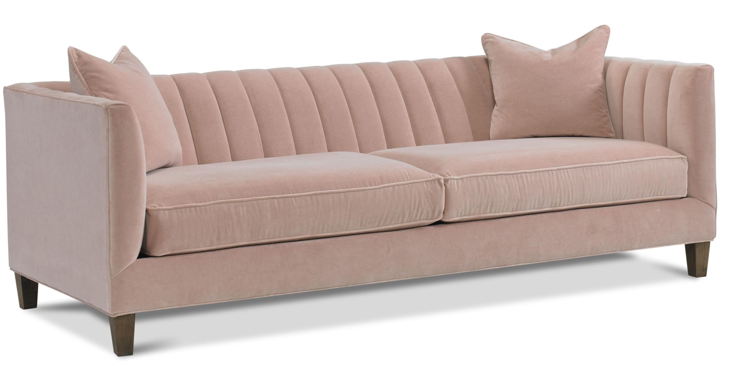 Penelope Channel Tufted Sofa