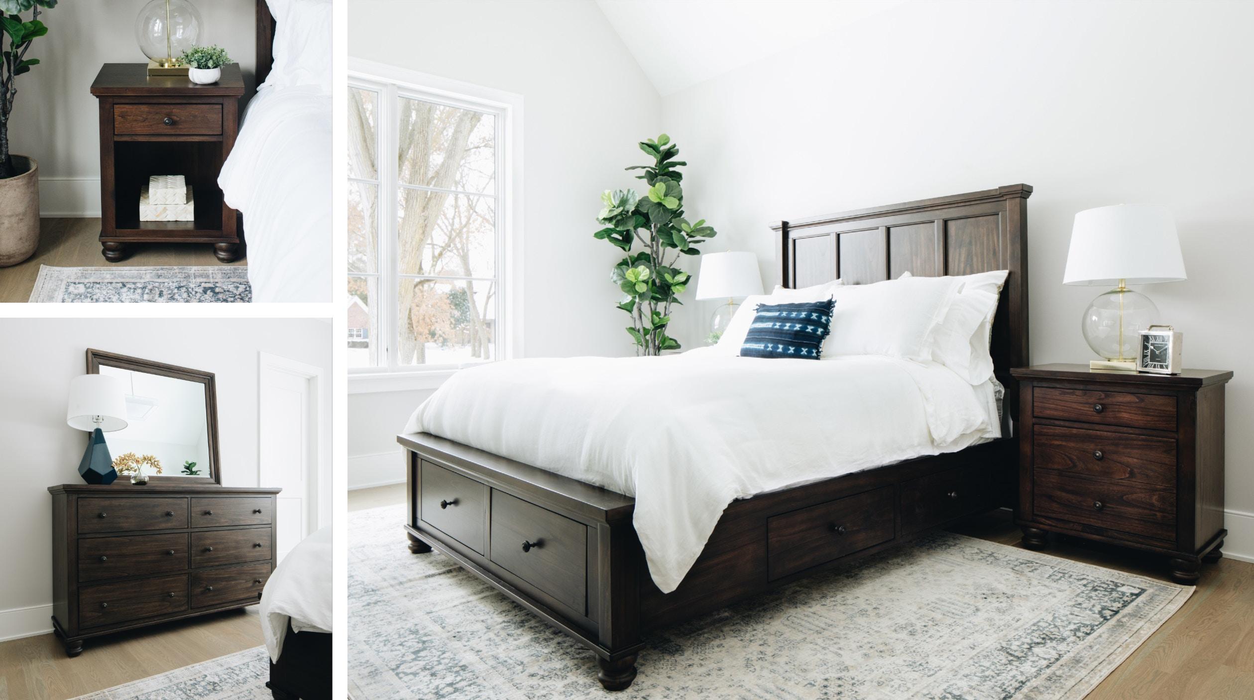 Quincy 4 Piece Bedroom Set