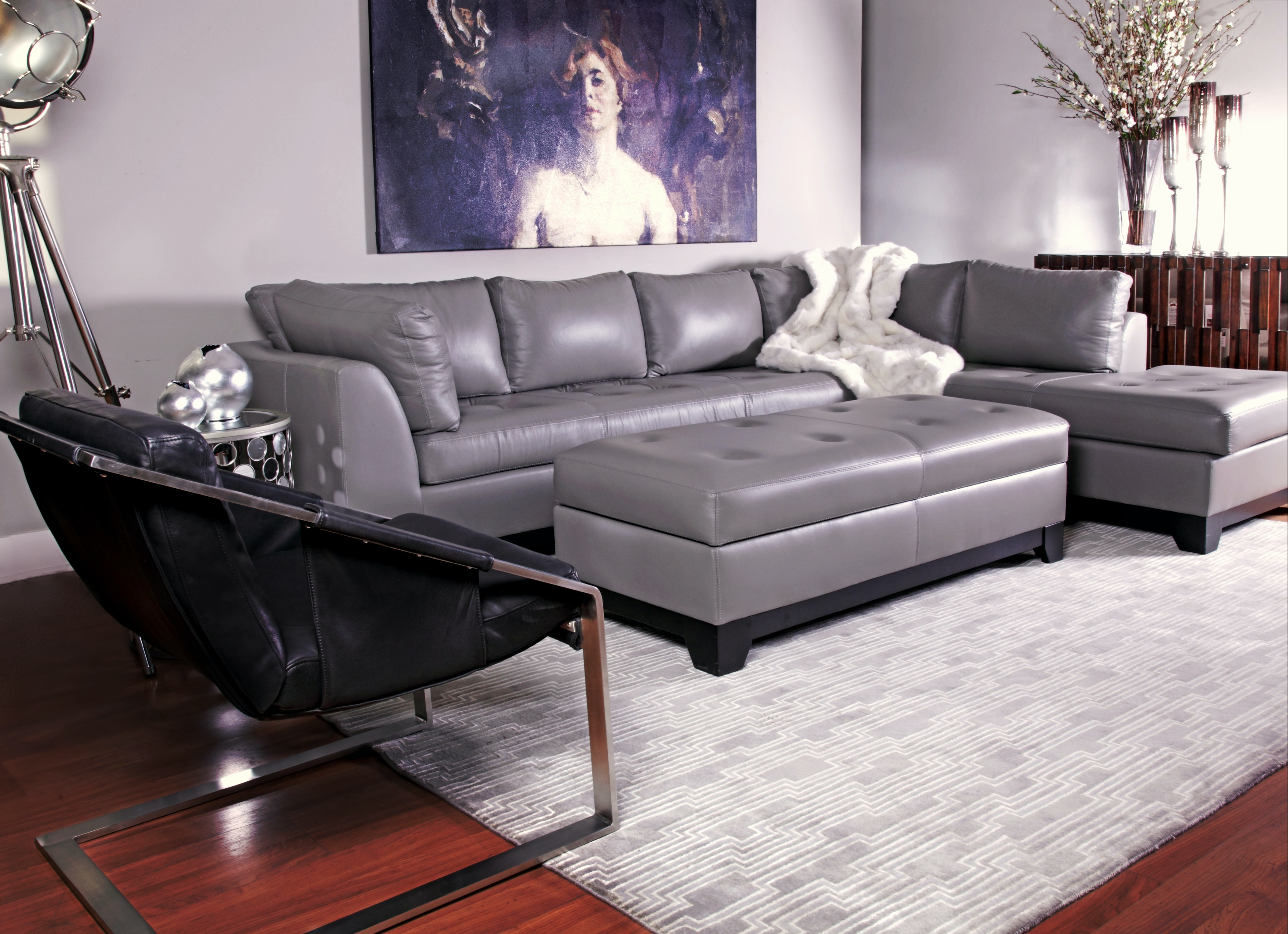 Virtual Showroom Living Rooms Alinea Sectional Grouping ALINEALR From Walter  E. Smithe Furniture + Design