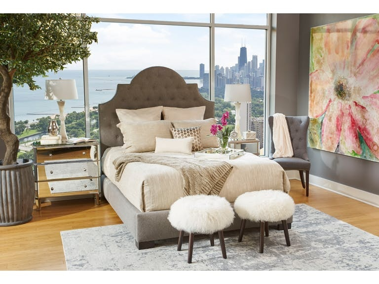 Paragon Furniture SERENADE ORNATE UPH QUEEN BED TUFTED YP1QBGMRU From  Walter E. Smithe Furniture