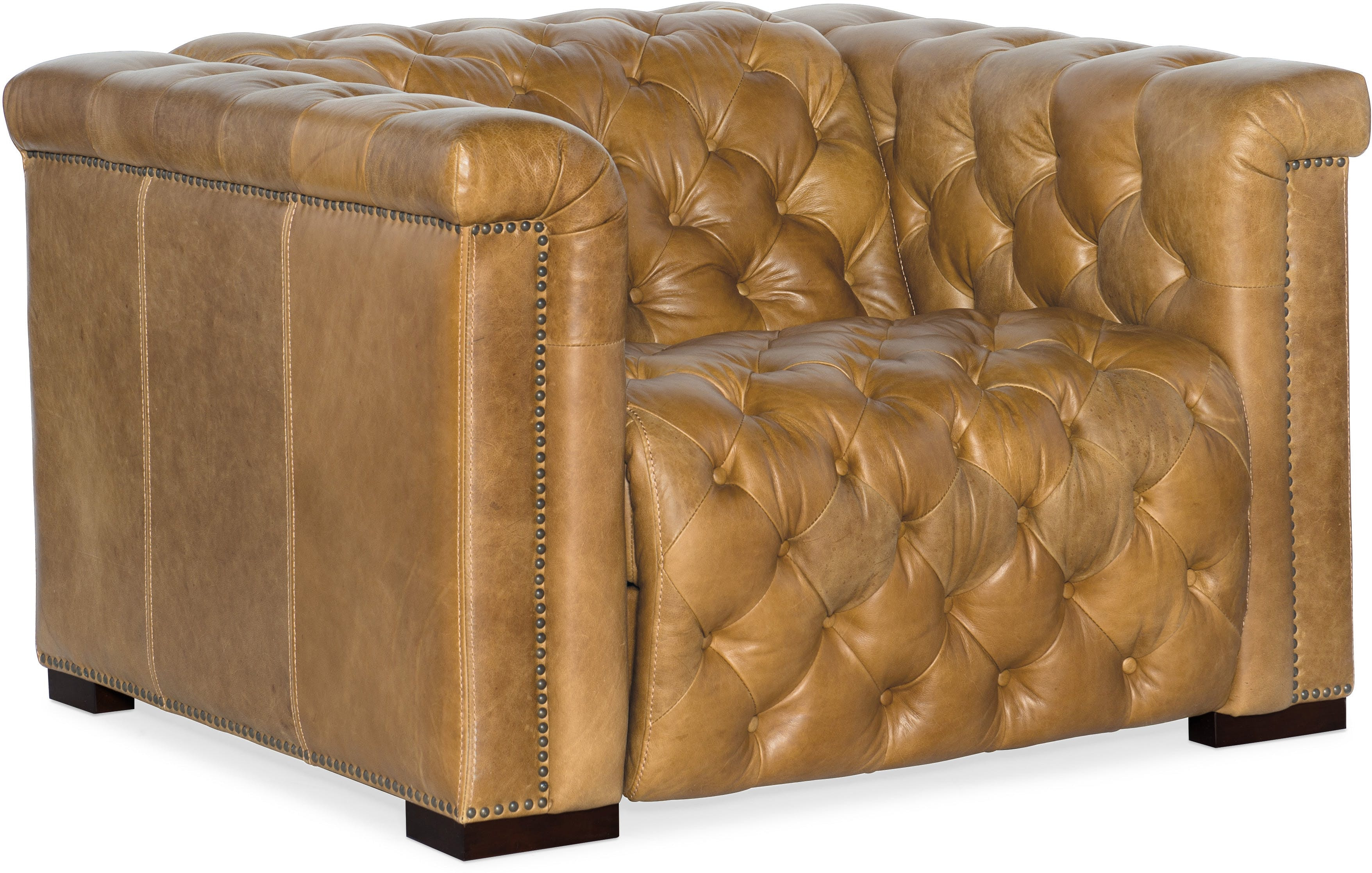 Stock Program SAVION RECLINING CHESTERFIELD CHAIR HSSS434P1086ST From  Walter E. Smithe Furniture + Design
