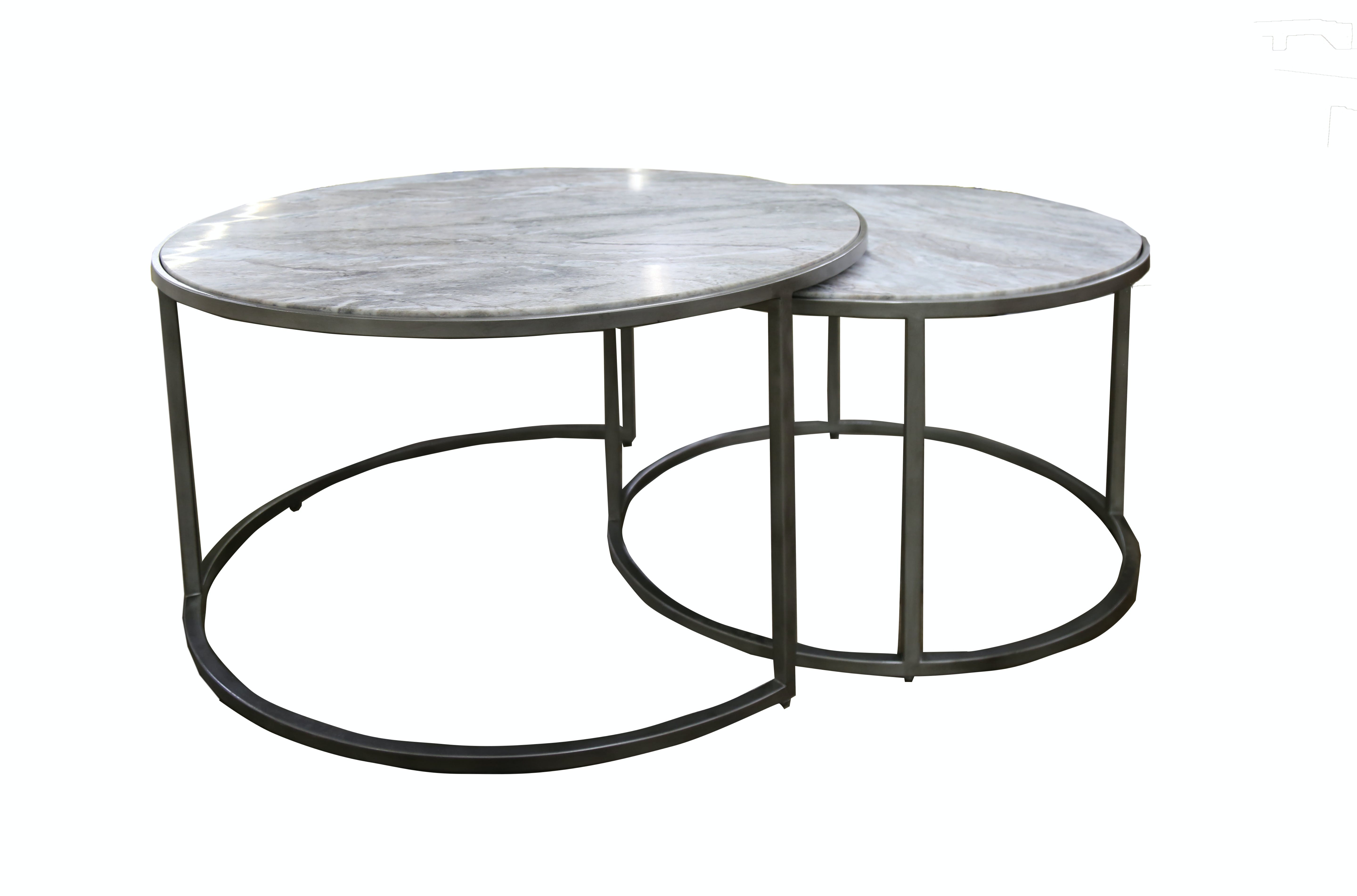Picture of: Emmerson Round Nesting Tables