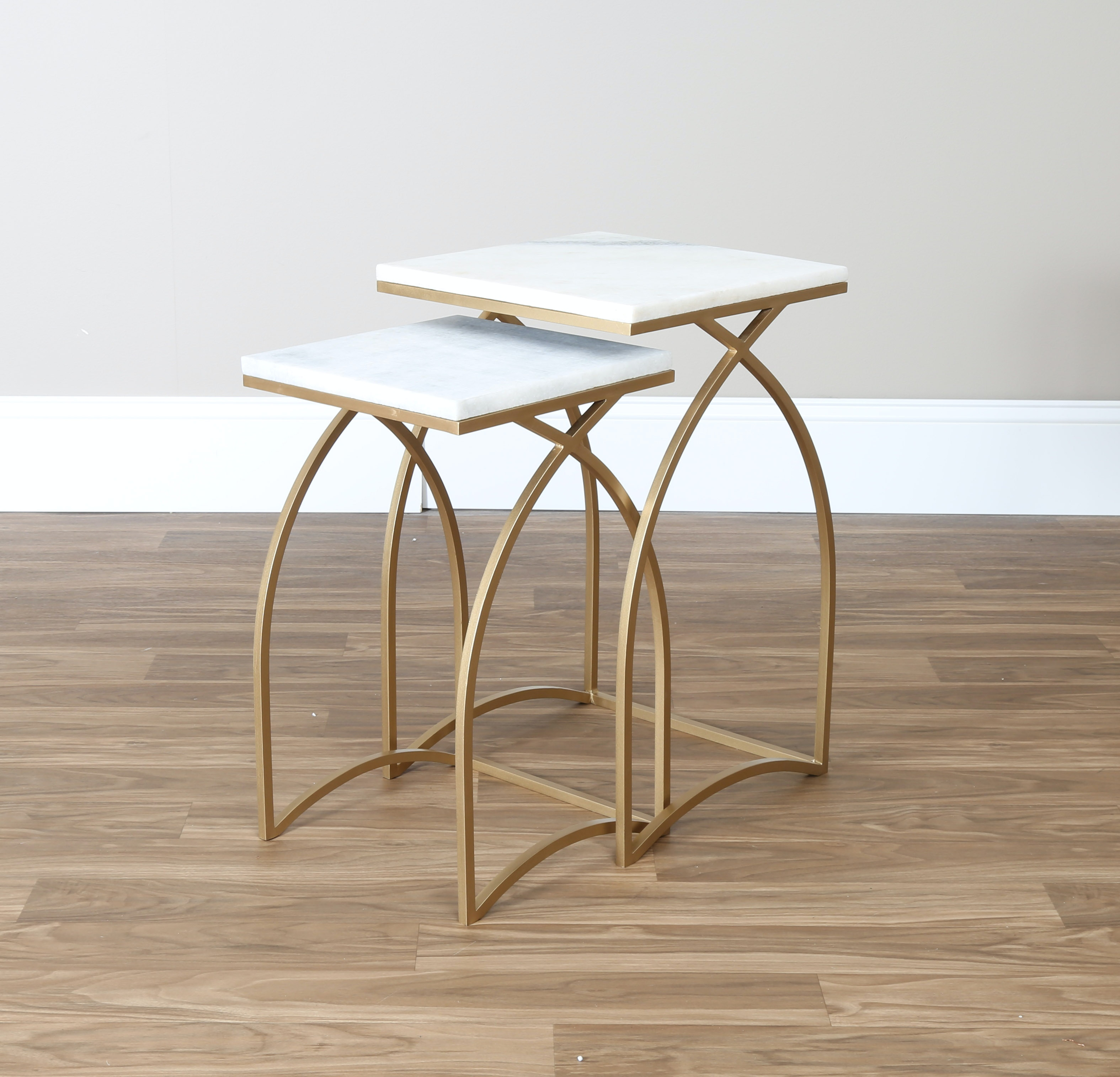 Nesting furniture Stackable Stock Program Tate Marble Nesting Tables Stmaw70021st Walter E Smithe Tate Marble Nesting Tables
