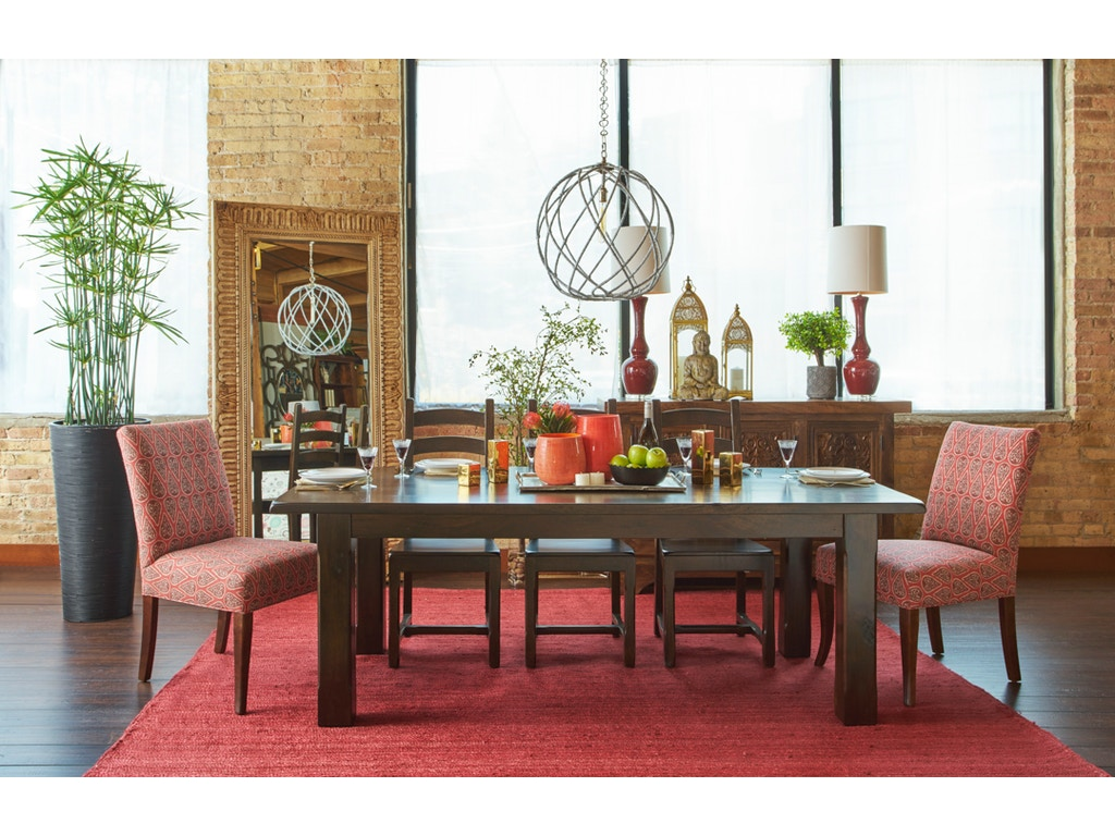 Summit dining for Walter e smithe dining room furniture