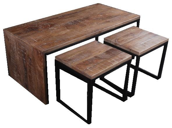 Dunhill Cocktail Table With 2 Stools Kxvct55st