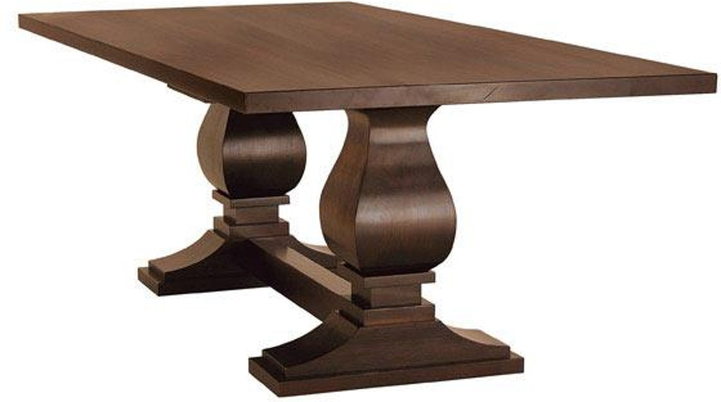 Clearance Dining Room Madison Double Pedestal Table Vvo23006 Clr Walter E Smithe Furniture Design