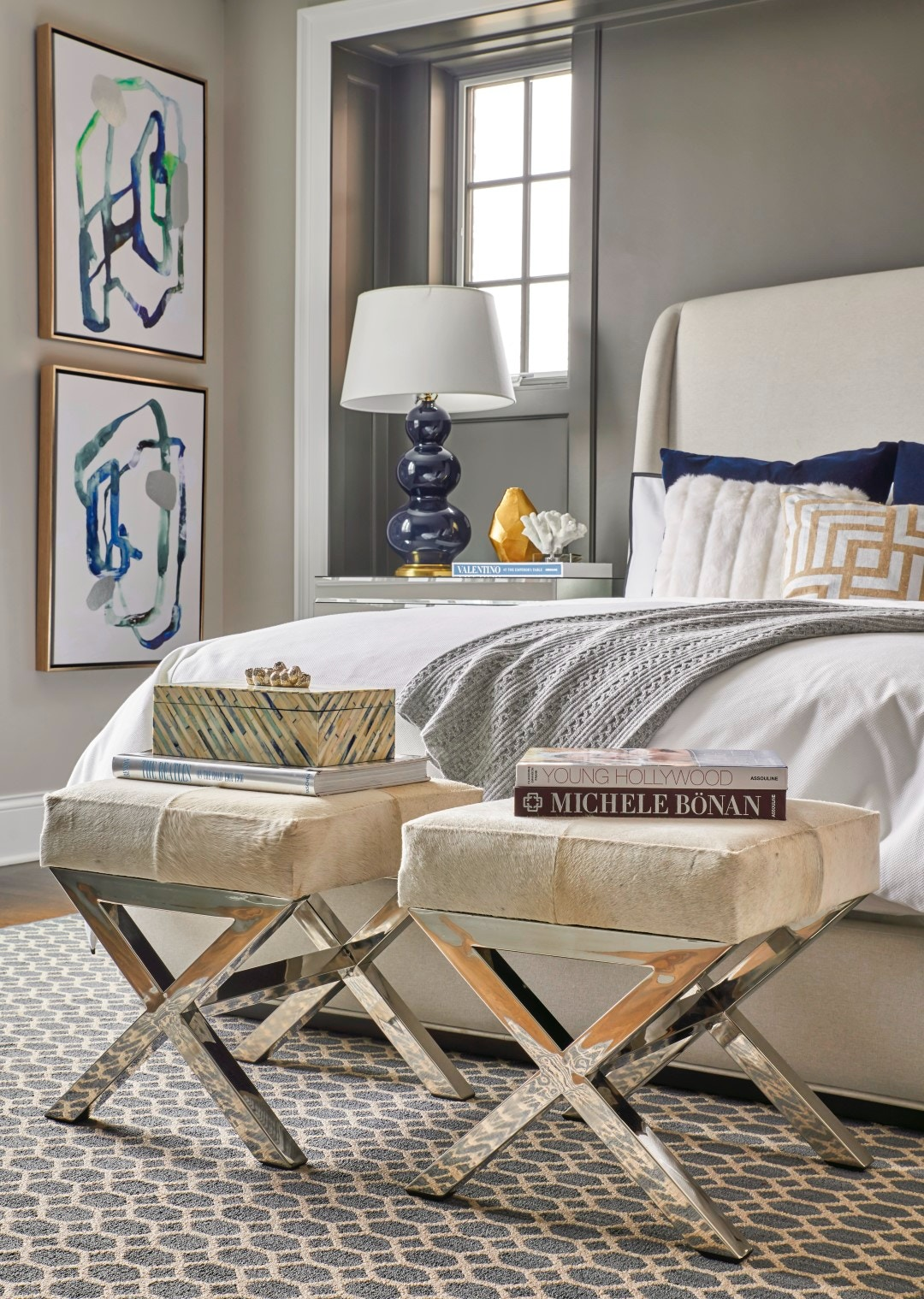 Alianna bedroom for Jeff lewis bedroom designs