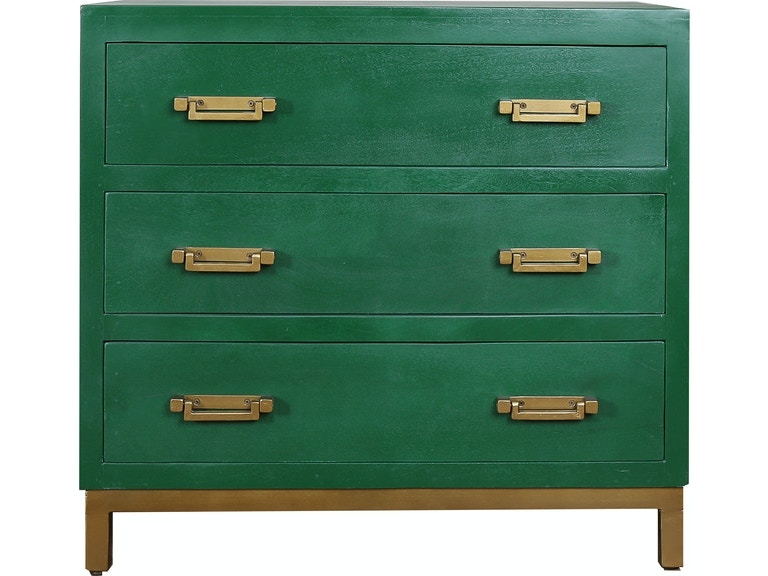 Stock Program Jade 3 Drawer Painted Chest Wilae18y81ccst From Walter E Smithe Furniture Design