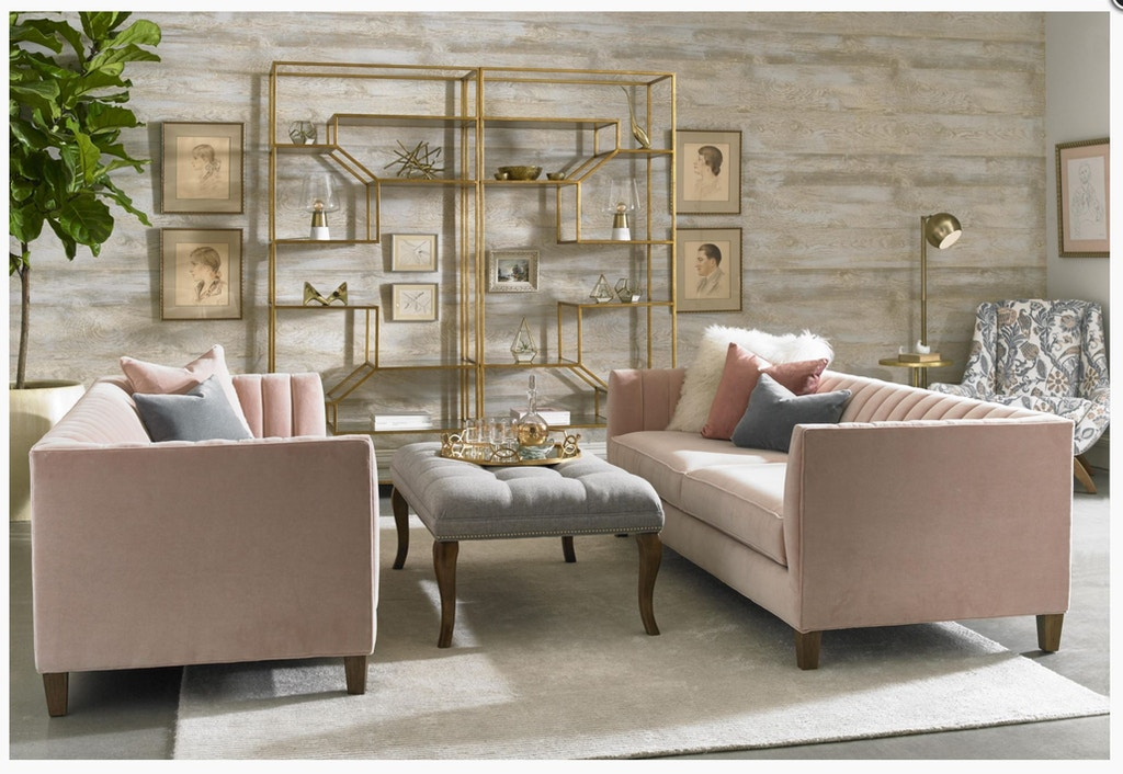 Paragon Furniture Penelope Channel Tufted Sofa Yp3296s1 From Walter E Smithe Design