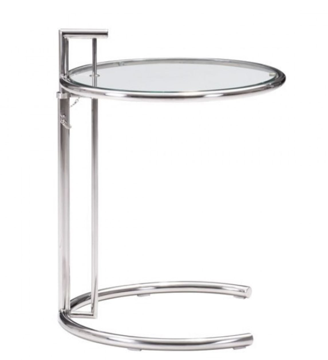 Featured Product EILEEN ADJUSTABLE CHROME SIDE TABLE ZMC401138 From Walter  E. Smithe Furniture + Design