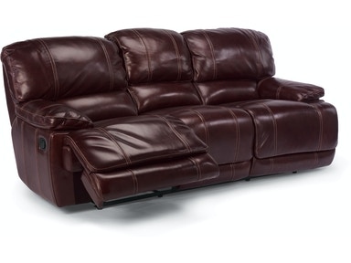 Flexsteel Relining Sofa In Leather 1250 62p