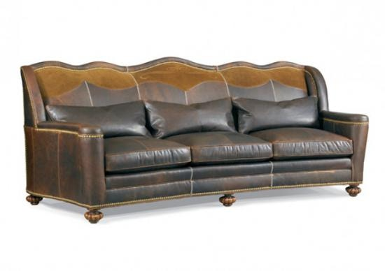 Ordinaire Whittemore Sherrill Leather Gallery By Reflections High Country Leather Sofa  By Whittemore Sherrill 1933 03