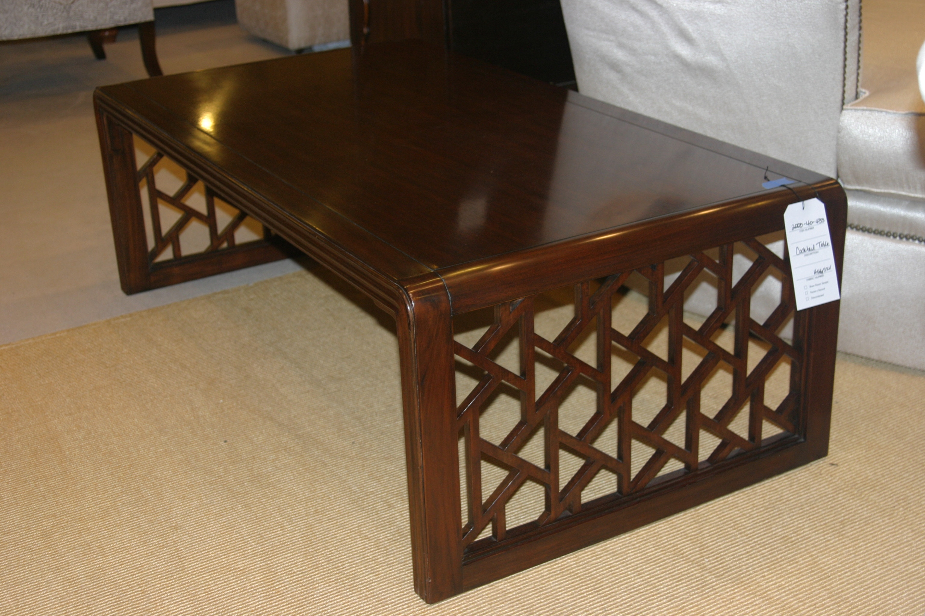 Henredon Coffee Table Henredon Console Table With Fold Out Top