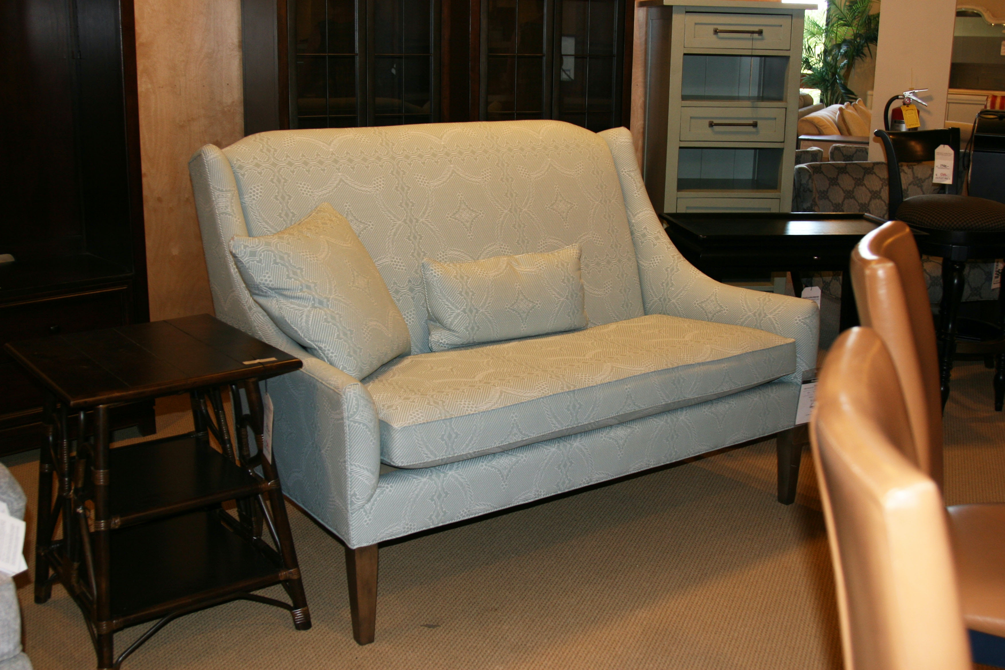 Thomasville Factory Outlet Anna With Legs Settee 2554 13