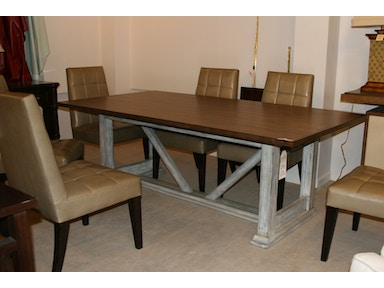325 660STD Trestle Dining Table