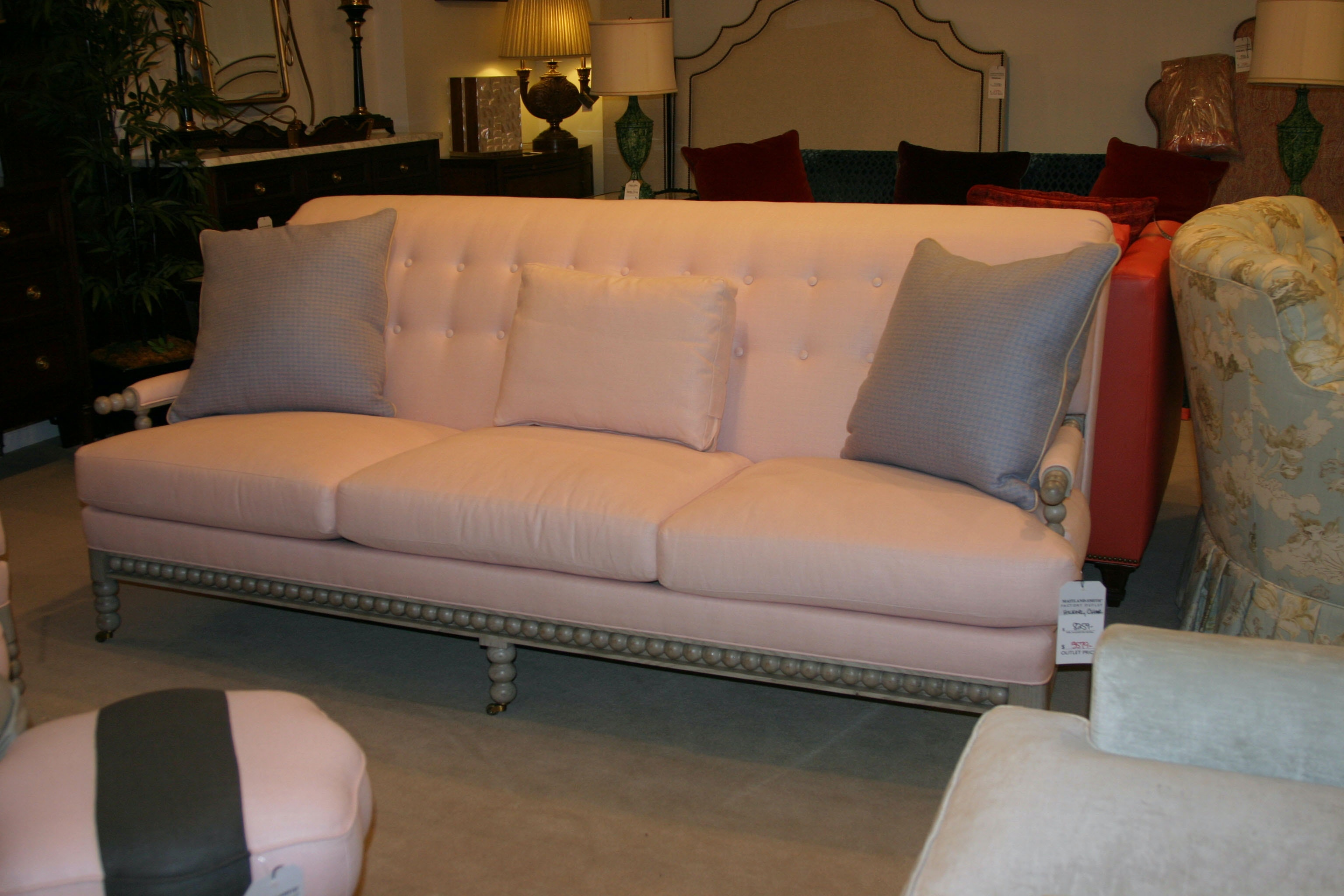 Hickory Chair Factory Outlet Adler Sofa By Hickory Chair 3304 86