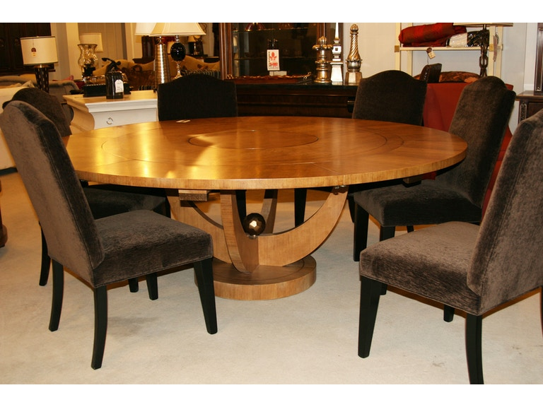 Maitland Smith Factory Outlet Dining Room Blond Walnut Table SKU 3530 336 Is Available At Hickory Furniture Mart In NC And Nationwide