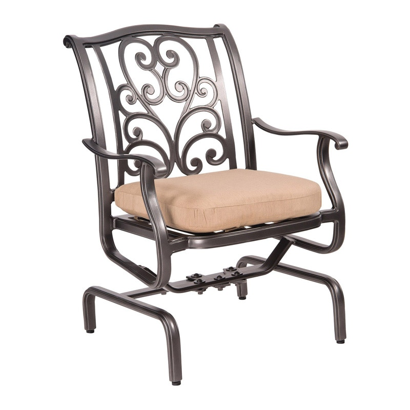 Seasons Outdoor And Sunroom Gallery By Hickory Park New Orleans Spring  Rocker Dining Arm Chair By