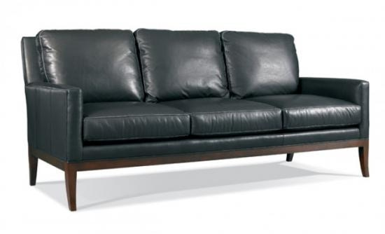 423 03. METROPOLITAN Leather Sofa By Whittemore Sherrill