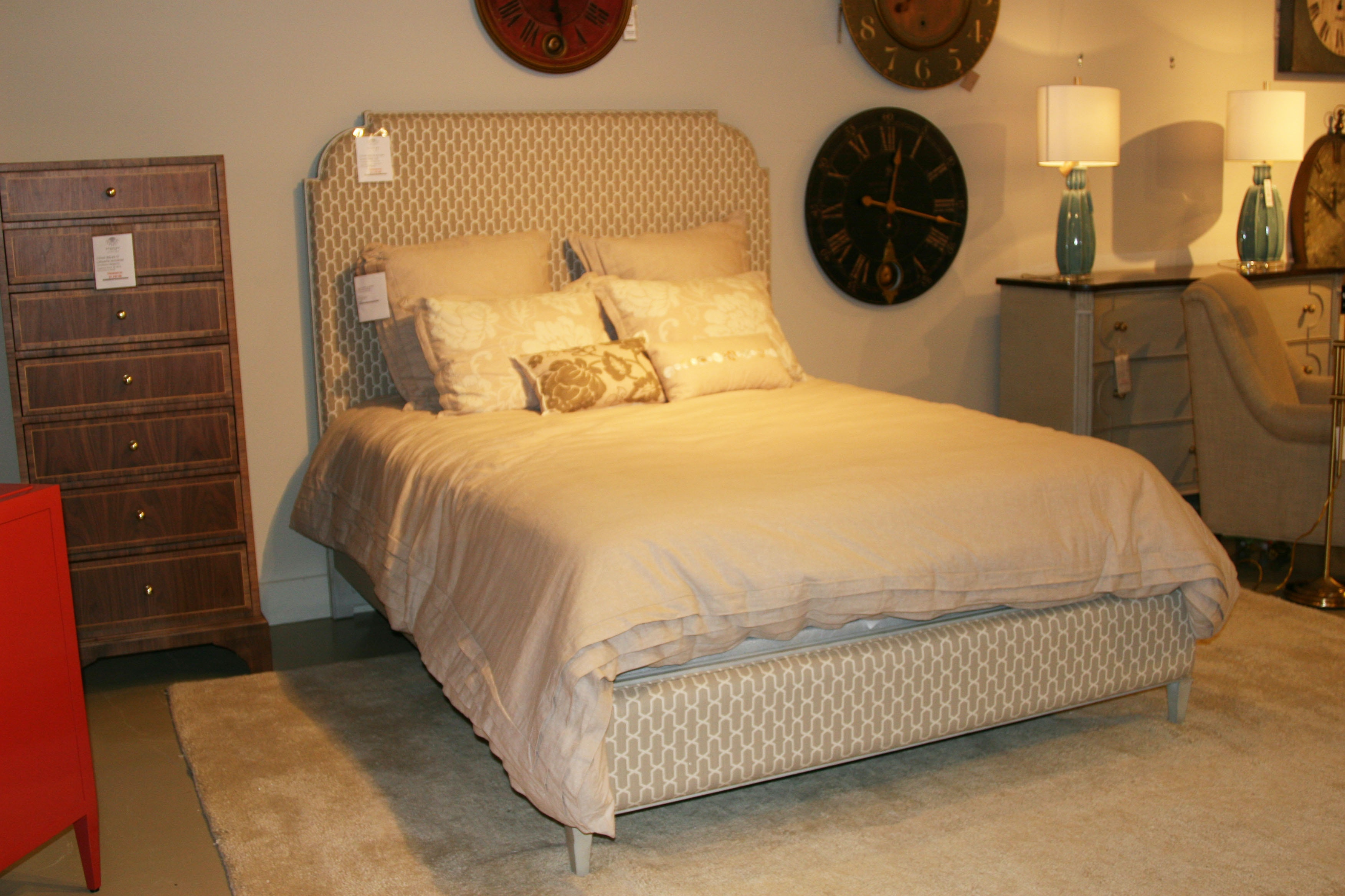 Stanley Furniture Outlet By Goodu0027s Charleston Regency   Peninsula  Upholstered Bed Queen 302 53