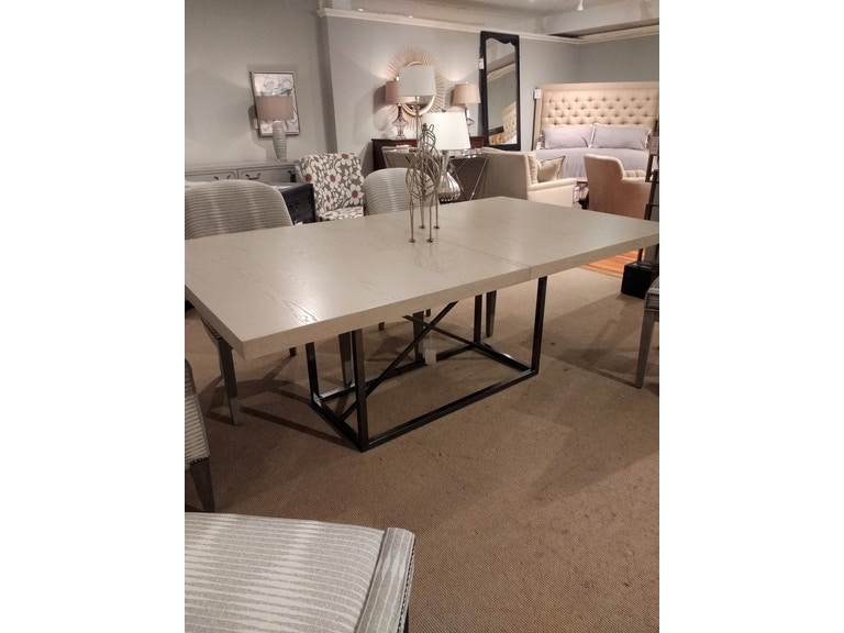 Vanguard Furniture Factory Outlet By Goods Dining Room Michael Weiss Table With Metal Base SKU W758T BT Is Available At Hickory