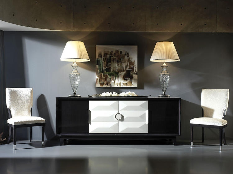 Great David Michael Furniture Solid Walnut Sideboard TM 1014