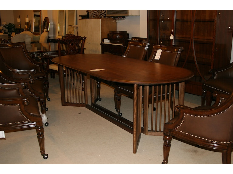 Drexel Heritage Factory Outlet Dining Room Table SKU 555 620B T Is Available At Hickory Furniture Mart In NC And Nationwide