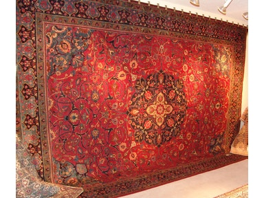 Unique Oriental Rugs & More One-of-a-Kind Fine Unique Antique Persian Area Rug 6112