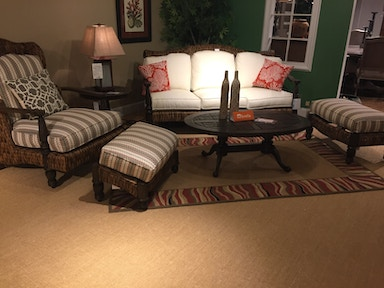 Hickory Park Furniture Outlet Outdoor Sofa group by Lane Venture 745-03
