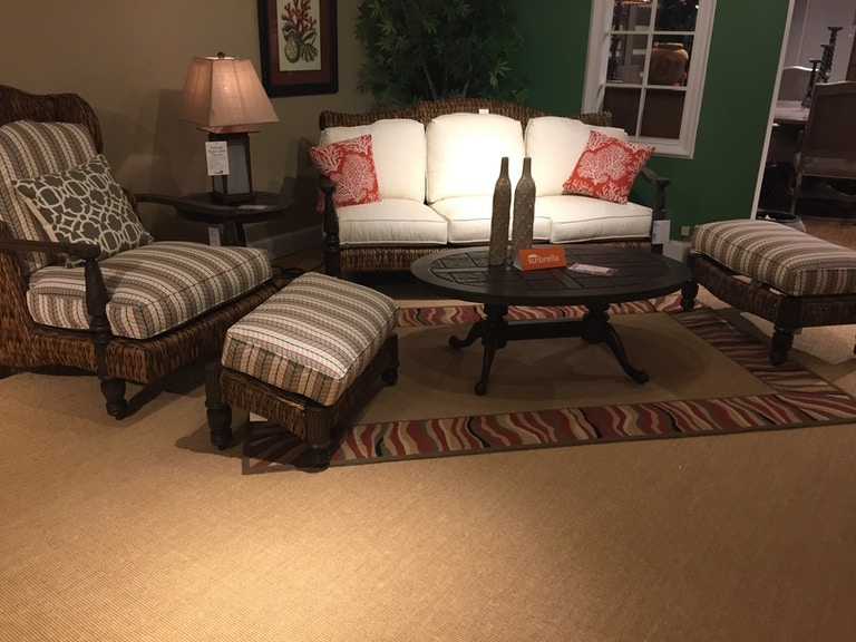Hickory Park Furniture Outlet Outdoor Sofa group by Lane Venture 745-03 - Hickory Park Furniture Outlet OutdoorPatio Outdoor Sofa Group By